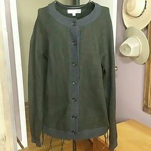 Uniqlo Ines de la Fressange wool blend cardigan
